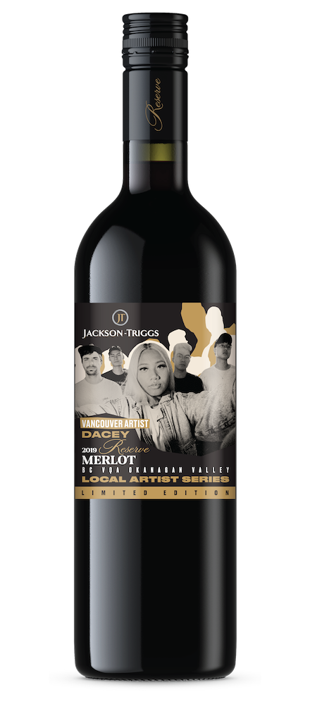 Dacey Merlot Bottle
