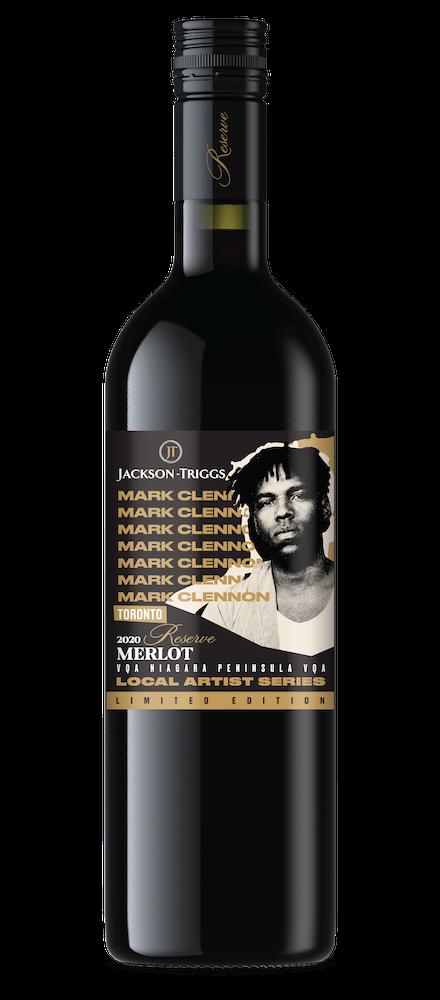 Mark Clennon Merlot Bottle